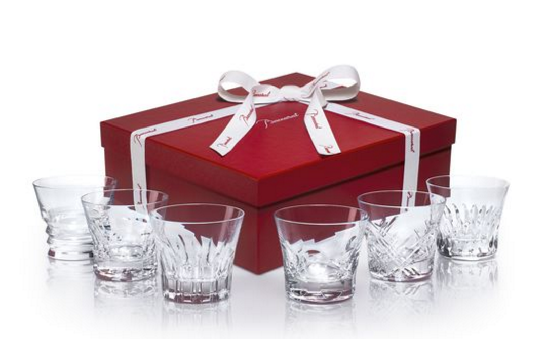 Baccarat Everyday crystal glassware gift set