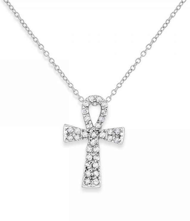KC Designs Diamond Ankh Necklace