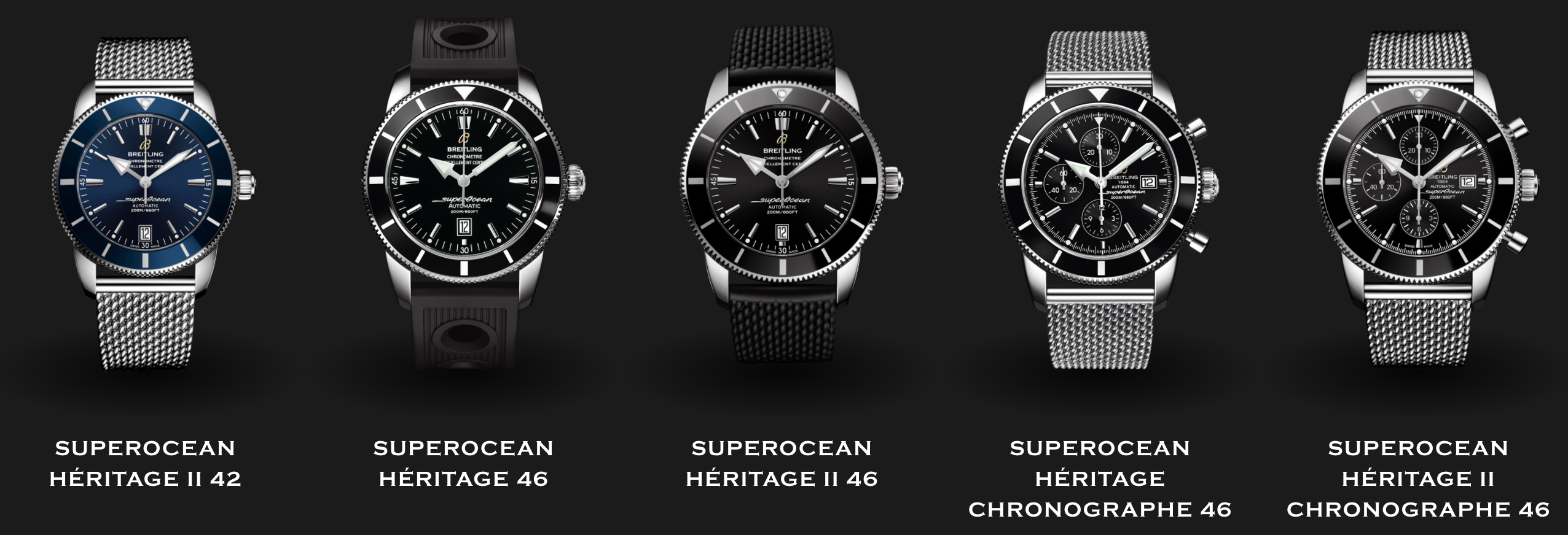 Breitling Superocean Collection